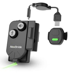 NexStride is a newly invented and award-winning aid from the USA, which is mounted on a cane or a rollator and which with clear sound signals (as a metronome) and a laser light assists people with e.g. Parkinson's with walking. Inventions, Usb, Walking, Meet, Health, People, Nice Asses, Health Care, Walks