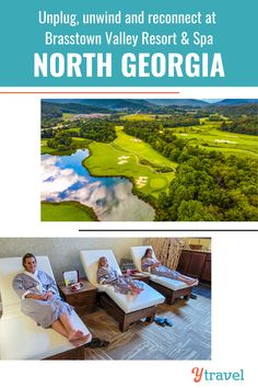 Escape the chaos of everyday life, unplug, unwind and reconnect with those you love most at Brasstown Valley Resort & Spa! The perfect getaway in the Blue Ridge Mountains of North Georgia. Learn more on our blog! #NorthGeorgia #GeorgiaVacation #NatureSpa #RelaxingGetaway #FamilyRoadTrip #USRoadTrips #FamilyTravel