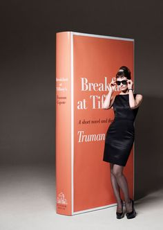 Emily Mortimer as Holly Golightly from Truman Capote's novel Breakfast at Tiffany's. Photo by John-Paul Pietrus.