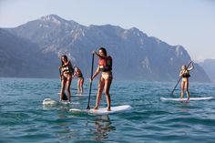 SUP - Stand up Paddeln am Gardasee