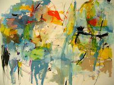 "Saatchi Art Artist Mary Ann Wakeley; Painting, ""Cool Caravan"" #art"
