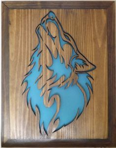 31 Ideas wood carving patterns wolf scroll saw Wood Carving Designs, Wood Carving Patterns, Wood Patterns, Scroll Saw Patterns Free, Scroll Pattern, Cnc Projects, Woodworking Projects, Intarsia Holz, Wolf Craft