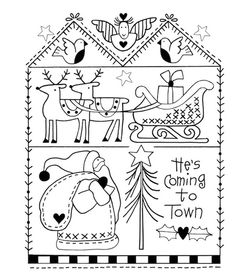 Red Brolly - Latest Craft Tips & Product Recommendations Hand Embroidery Patterns, Embroidery Stitches, Quilt Patterns, Embroidery Designs, Christmas Tree Ornaments, Christmas Crafts, Red Brolly, Red And White Quilts, Christmas Embroidery