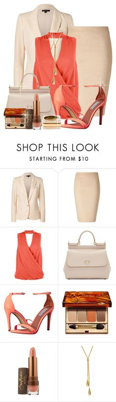 """""""@"""" by lavanda79-1 ❤ liked on Polyvore featuring Rachel Zoe, Akris, New Look, Dolce&Gabbana, Steve Madden, Clarins, SheaMoisture and Chloé"""