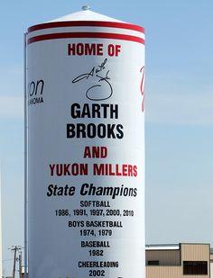 Yukon Oklahoma Home of Garth Brooks