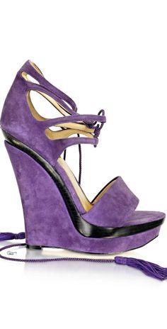Rachel Zoe ● High Wedge Purple Fabulous!