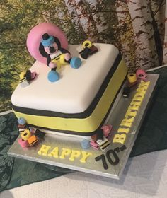 Allsorts cake Bassett liquorice Beautiful Cakes, Amazing Cakes, 70th Birthday Cake, Dad Cake, Liquorice Allsorts, Cupcake Cakes, Cupcakes, Tool Cake, Sweet Bags