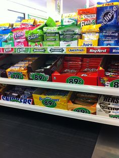 With so many exciting options in the world, why offer candy at checkout? (Dollar Tree, Chester, MD, 7/15)