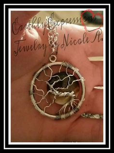 Check out this item in my Etsy shop https://www.etsy.com/listing/270159687/tree-of-life-necklace-with-small-glass