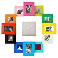 Colorful Picture Frame Clock