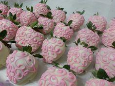 Fresas para baby Shower