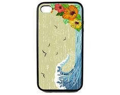 Protective iPhone 4/4s Case Surf. $15.00, via Etsy.
