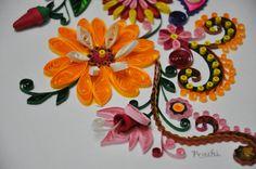 Paper Quilling by Prachi Malandkar Phondba, via Behance