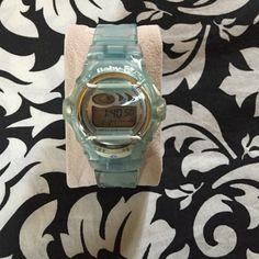 Baby-G Gshock Baby blue- baby-G Gshock watch! G-Shock Accessories Watches
