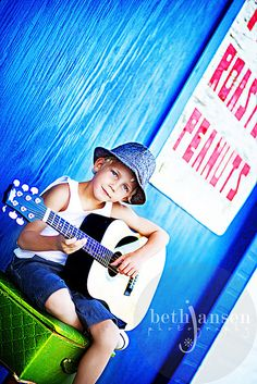 music.  I hope the kid is more than a model and really enjoys the music.