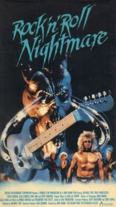 Academy Entertainment VHS Covers: Rock 'n' Roll Nightmare