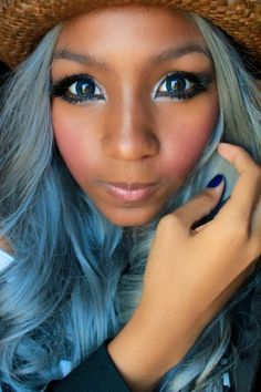 Black gyaru | Gyaru Inspirations « Diary of a Quiet Black Girl
