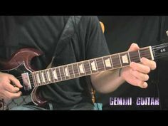 Blues Rock / Hard Rock Groove Riffing Guitar Lesson - YouTube