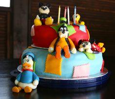 Cake for my Cousin :-D #goofycake #disneycake