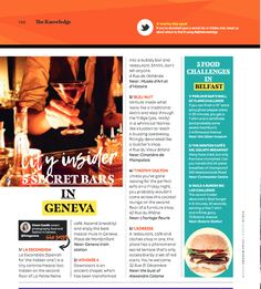 & 3 unusual buildings in Geneva Bubbly Bar, Unusual Buildings, Article Writing, Geneva, Screen Shot, Switzerland, Food And Drink, Magazine, Places