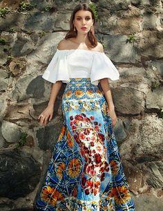 """""""Al Sur"""" Kate King by Martin Lidell / Vogue Mexico, May 2015 Fashion 2017, Latest Fashion Trends, Fashion Models, Fashion Outfits, Womens Fashion, Fashion Tips, Mexico Fashion, Vintage Magazine, Fashion Cover"""