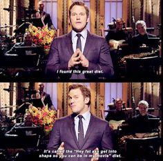 Chris Pratt is one of the funniest guys around.