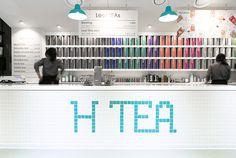 H Tea on Behance