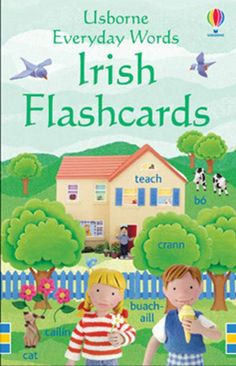 50 flashcards to help children master simple vocabulary in Irish. The cards can be used to play games or for self learning or simply be propped up around the house or classroom as useful reminders. Irish Store, Games To Play, Vocabulary, Gifts For Kids, Classroom, Teaching, Words, Children, Cats
