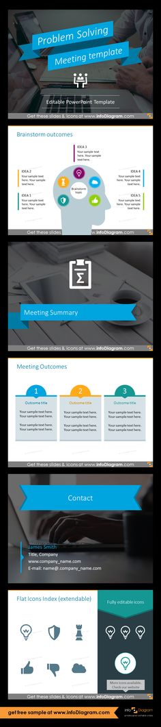 Powerpoint template for running effective meeting business powerpoint template for running effective meeting business meeting type problem solving by defining toneelgroepblik