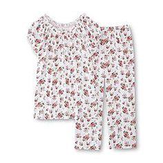 Pink K Women s Pajama Top  amp  Capri Pants - Rose Sleepwear Women 24e4475bc