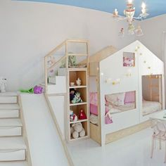 Wowee!! mommo design: HOUSE BEDS. A #CanDoBaby! fave.