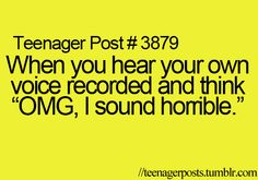 everytimmmeee. Teenager post