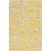 Found it at Wayfair - Alhambra Gold Area Rug