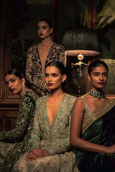 """Indian Fashion - """"Firdaus"""" by Sabyasachi Mukherjee India Fashion, Asian Fashion, Women's Fashion, Indian Dresses, Indian Outfits, Indian Clothes, Sabyasachi Collection, Indian Aesthetic, Sabyasachi Bride"""