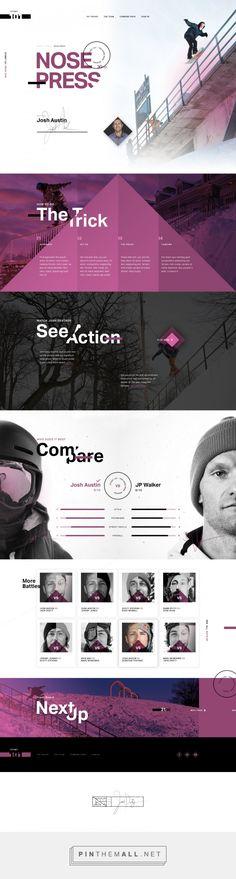 Nose Press Website Design by Ben Johnson | Fivestar Branding Agency – Design and Branding Agency & Curated Inspiration Gallery