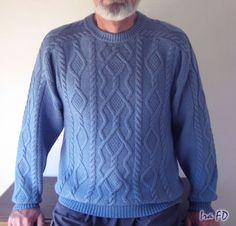 Любая вязальщица хоть раз в жизни задумывает связать классический аранский свитер. Вот такой пуловер в аранском стиле я вязала очень много лет назад. Когда-то я…