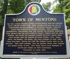 Mentone, AL  Summer 2013