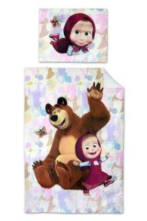 Detské obliečky 140x200 MÁŠA A MEDVEĎ motýľ Scooby Doo, Bee, Teddy Bear, Toys, Animals, Fictional Characters, Masha And The Bear, Products, Activity Toys