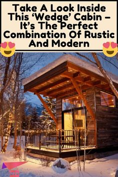 Hacks Diy, Home Hacks, Tiny House Living, Modern Rustic, Clean House, Home Projects, House Styles, Amazing, Tiny Homes