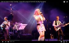 60s show at Carnival City Big Top Arena   Ruby Tuesday band feat. Colé van dais