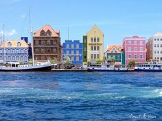 Willemstad, Curacao, Caribbean – Willemstad is the capital city of Curaçao, an island in the southern Caribbean Sea. This country is so colorful and unique that they have a language of their own called Papiamento. Willemstad, Cool Places To Visit, Places To Travel, Travel Destinations, Festival Jazz, Southern Caribbean, Caribbean Sea, Kingdom Of The Netherlands, Bridgetown