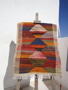 kilim rug by MogaArtisanatShop on Etsy