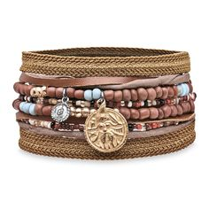 Pulsera cuero,textil,cristal plata,bronce Textiles, Bracelets, Jewelry, Fashion, Bronze, Silver, Crystals, Leather, Moda