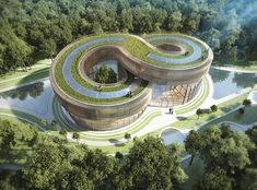 <p>Belgian architect Vincent Callebaut designed Flavours Orchard, a high-tech eco-friendly city in China that centers on community gardening.</p>