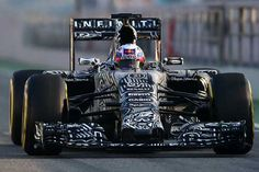Daniel Ricciardo of Australia and Infiniti Red Bull Racing drives during day two of Formula One Winter Testing at Circuit de Catalunya in Montmelo, Spain