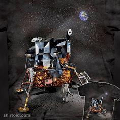 Apollo Lunar Module #apollolunarmodule #astronaut #astronauts #astronomy #moon #nasa #spaceexploration #themountain