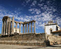Templo Romano - Évora, Portugal