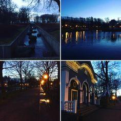 Hämärtyvä ilta Kadriorgissa. Tämän palatsi- ja kaupunkipuiston tunnelma vaihtuu vuorokauden- ja vuodenajan mukaan. Nyt se huokuu hieman mystisyyttäkin. #eckeröline #msfinlandia #tallinn #tallinna #kadriorg