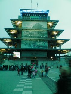 Indy 500 pavillion Indianapolis Race Track ~ The Pagoda.