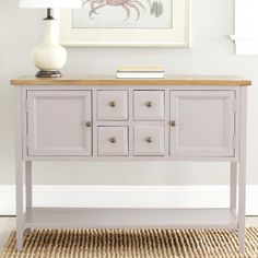 for the microwave & toaster oven - Safavieh Casablanca Sideboard : Target